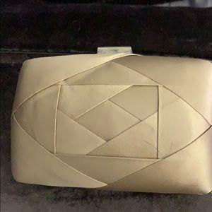 Coccinelle silk clutch